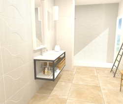 ORBIT 40X120 - SANDSTONE ... Modern Bathroom Azulev S.A.U.
